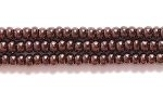 Seed Beads Czech Seed size 11 deep copper opaque silk