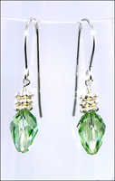 Holiday Green Light Earrings