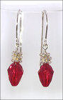 Holiday Red Light Earrings