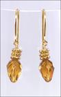 Holiday Golden Light Earrings
