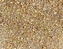 Seed Beads Miyuki Seed size 15 24kt gold lined color lined