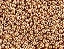 Image Seed Beads Miyuki Seed size 15 yellow gold galvanized