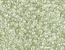 Image Seed Beads Miyuki Seed size 15 sparkle celery color lined