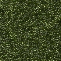 Miyuki Seed size 15 Olive Metallic