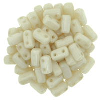 Image Seed Beads CzechMate Brick 3 x 6mm champagne opaque luster