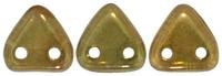 Image Seed Beads CzechMates Triangle 6mm olivine vega