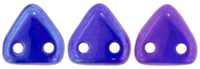 Image Seed Beads CzechMates Triangle 6mm cobalt vega