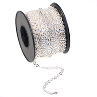 2.8mm silver plate cable Chain