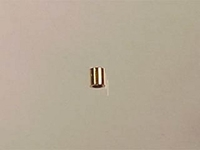 14k goldfill 2 x 2mm tube crimp bead gold