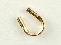 14k goldfill .021 hole for fine cable cable guard gold
