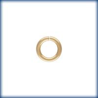 goldfill 5.8mm 18 gauge jumplock jumpring gold