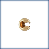 goldfill 4mm crimp cover crimp cover