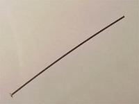 goldfill 1.5 inch thin headpin gold
