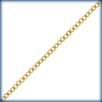 goldfill tiny round link cable Chain 1.1mm
