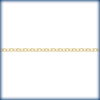 goldfill belcher cable (1/2 round wire) Chain 3mm