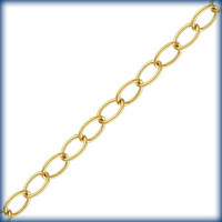 goldfill lightweight oval link cable  Chain 2.1mm