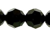 Image Swarovski Crystal Beads 12mm round (5000) jet (black) opaque