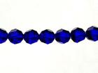 Swarovski Crystal Beads 4mm round (5000) cobalt blue transparent