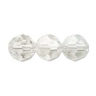 Swarovski Crystal Beads 4mm round (5000) crystal silver shade transparent with finish