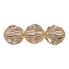 Swarovski Crystal Beads 4mm round (5000) silk (light peachy pink) transparent