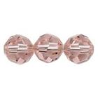 Swarovski Crystal Beads 4mm round (5000) vintage rose (pink) transparent