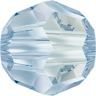Swarovski Crystal Beads 6mm round (5000) crystal blue shade transparent with finish