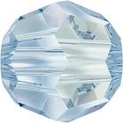 Swarovski Crystal Beads 6mm round (5000) crystal blue shade transparent with finish