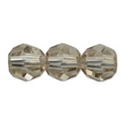 Swarovski Crystal Beads 6mm round (5000) crystal golden shadow transparent with finish