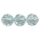 Swarovski Crystal Beads 6mm round (5000) light azore (pale aqua blue) transparent