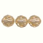 Swarovski Crystal Beads 6mm round (5000) light peach transparent