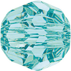 Swarovski Crystal Beads 6mm round (5000) light turquoise transparent