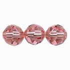 Swarovski Crystal Beads 6mm round (5000) light rose (light pink) transparent