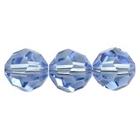 Swarovski Crystal Beads 6mm round (5000) light sapphire (pale blue) transparent