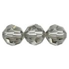 Swarovski Crystal Beads 8mm round (5000) black diamond (grey) transparent