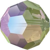 Swarovski Crystal Beads 8mm round (5000) crystal paradise shine transparent with finish