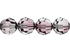 Swarovski Crystal Beads 8mm round (5000) crystal antique pink transparent with finish