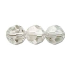 Swarovski Crystal Beads 8mm round (5000) crystal silver shade transparent with finish
