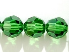 Swarovski Crystal Beads 8mm round (5000) fern green transparent