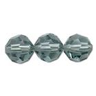 Swarovski Crystal Beads 8mm round (5000) indian sapphire (blue) transparent
