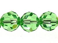 Image Swarovski Crystal Beads 8mm round (5000) peridot (light green) transparent