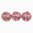 Swarovski Crystal Beads 8mm round (5000) light rose (light pink) transparent