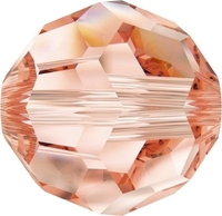 Swarovski Crystal Beads 8mm round (5000) rose peach transparent
