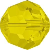 Swarovski Crystal Beads 8mm round (5000) yellow opal opalescent