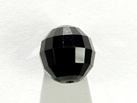 Swarovski Crystal Beads 12mm chessboard (5005) jet (black) opaque