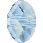 Swarovski Crystal Beads 6mm rondell (5040) crystal blue shade transparent with finish