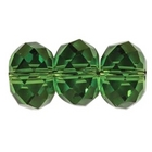 Swarovski Crystal Beads 6mm rondell (5040) fern green transparent