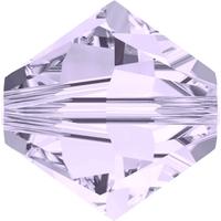 Swarovski Crystal Beads 3mm bicone 5328 smoky mauve transparent