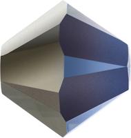 Swarovski Crystal Beads 4mm bicone 5328 crystal heliotrope transparent with finish