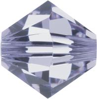 Swarovski Crystal Beads 4mm bicone 5328 provence lavender transparent