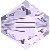 Swarovski Crystal Beads 4mm bicone 5328 smoky mauve transparent